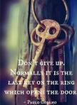 dond´t give up